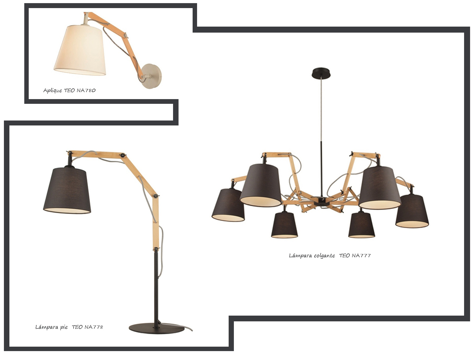 iluminados my caseta. Black Bedroom Furniture Sets. Home Design Ideas