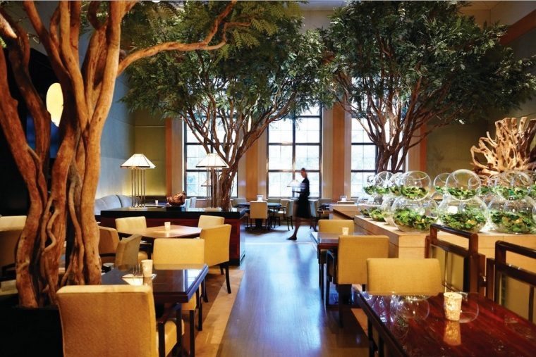 Garden Restaurant del hotel Four Season en New York
