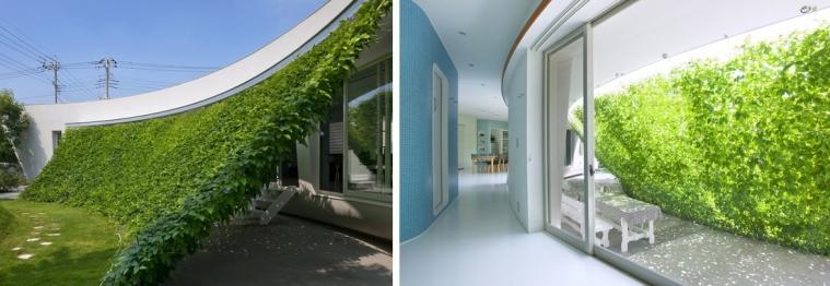 Green Screen House de  Hideo Humaki