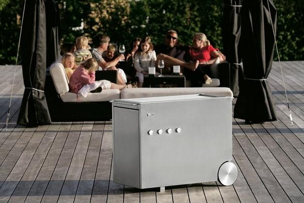 Modelo Heat 4 inox de Design House Denmark