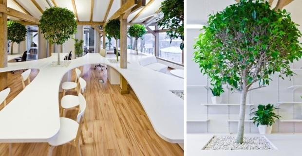 Oficina Greenhouse diseñada por OpenAd
