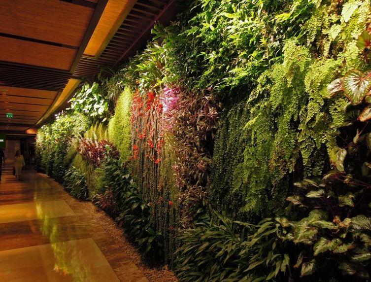 Sofitel Palm Jumeirah en  Dubai diseñado por Patrick Blanc