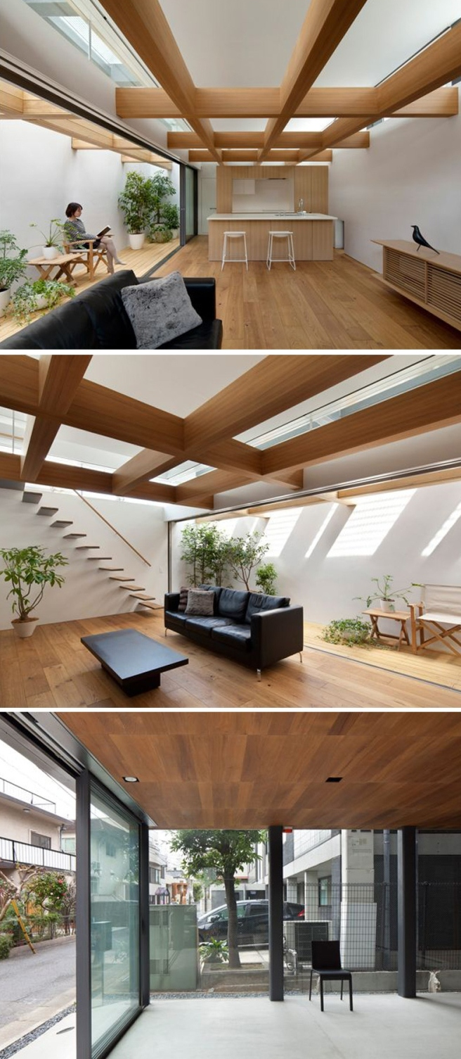 Casa Jingumae de Suppose Design Office