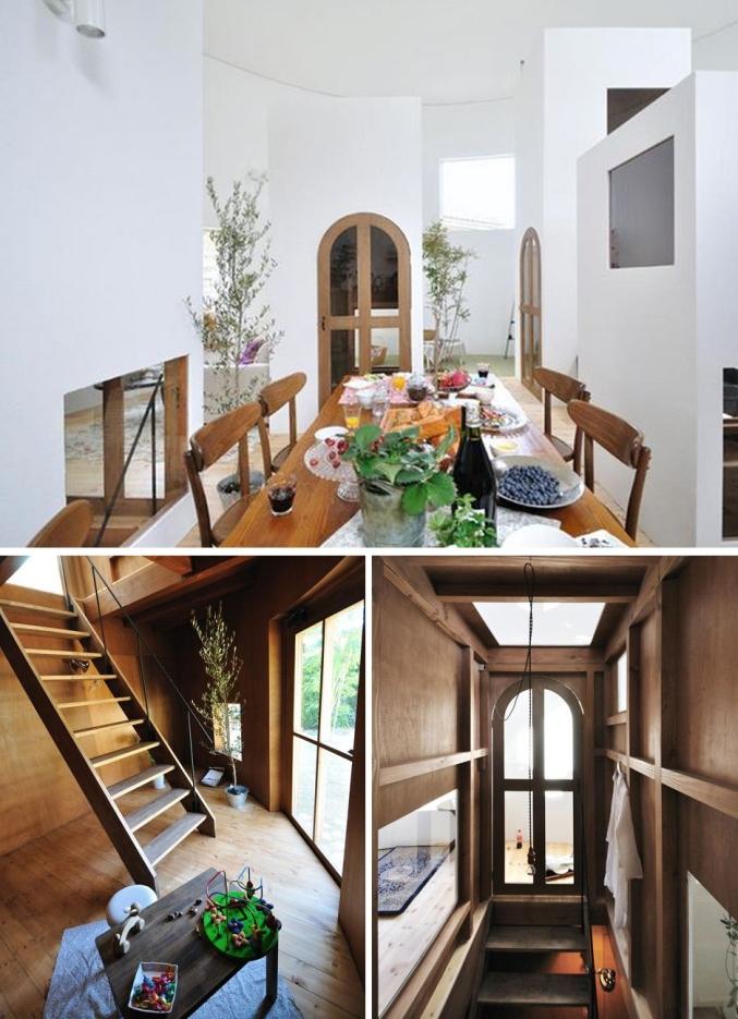 Casa en Chiharada de Studio Velocity