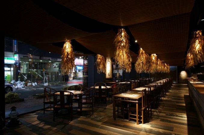 Bama Lohas Café de Kengo Kuma Associates