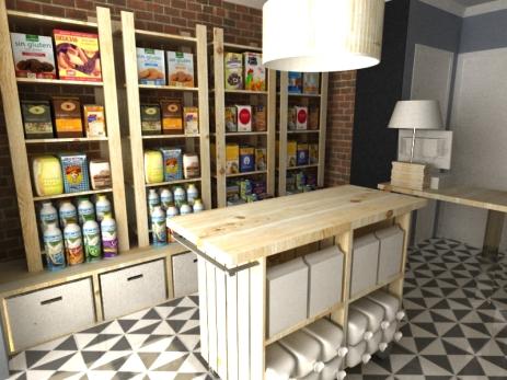 Proyecto tienda de alimentación
