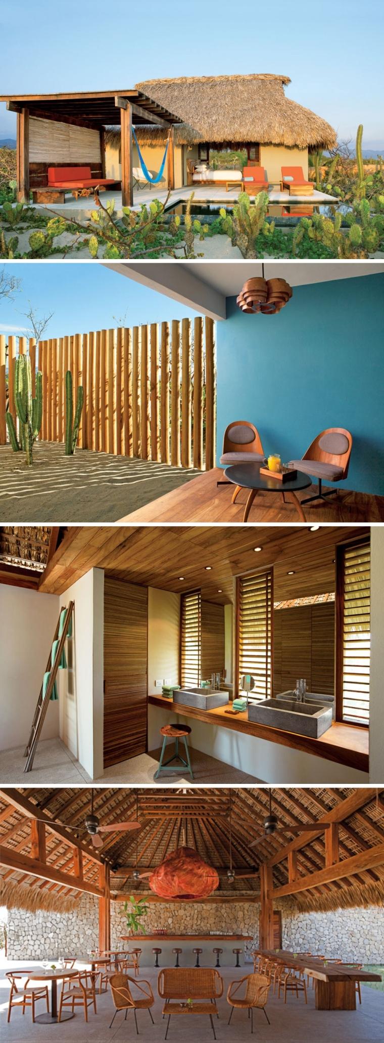 Detalles de los exteriores e interiores del Hotel Escondido. Fotografías de Undine Pröhl.